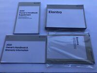 2020 Hyundai Elantra Owners Owner's Manual