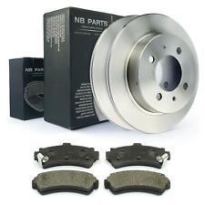 Discos de Freno + Forros Traseros 234mm Completo Para Nissan Almera I N15 Con