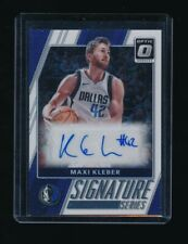 MAXI KLEBER 2017-18 DONRUSS OPTIC SIGNATURE SERIES AUTO *DALLAS MAVERICKS*