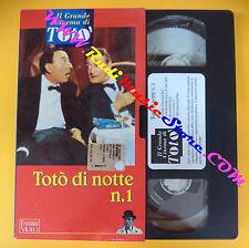 film VHS TOTO' DI NOTTE N.1 il grande cinema FABBRI VIDEO Amendola (F109) no dvd