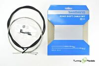 Shimano MTB/Road Bike Shift Cable+Sleeves for Front and Back Complete Set