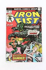 Iron Fist #2 1975 Marvel Comic in Vg-Vf Condition Bronze Age Book
