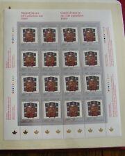 1989 CANADA STAMPS  SHEET Mn # 1241  -  MASTERPIECES OF CANADIAN ART - 2   DM18