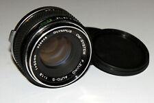 NICE Olympus OM-SYSTEM Zuiko Auto-S 1.8/50 mm lens Olympus OM mount SN 336668