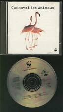 CARNAVAL DES ANIMAUX WWF CD Grieg Sain Saëns Schubert Vivaldi Mussorgsky