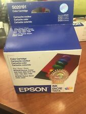New Old Stock EPSON Ink Cartridges Tri-color Aug 2004