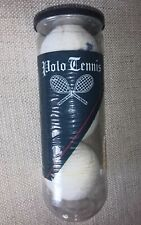 """Vintage """"Polo"""" Ralph Lauren Tennis Balls Off-White, New, Sealed Can. Made In Usa"""