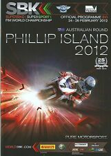 Superbike Championship 2012 Phillip Island - Official Programme
