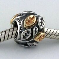 Authentic Pandora Tree of Life Sterling Silver & 14K Two-Tone Charm 790429 New
