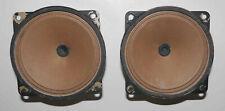 2 x  haut parleurs tweeters vintage  ITT LPH 100  –  4 Ω