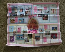 Barbie Poster Making Every Month Special 1990's Fashion #vintage #dolls clothes
