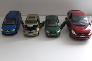 Cast iron cars 1/18- 1/24 x3 Solibo- Welly -BMW UNBRAND -