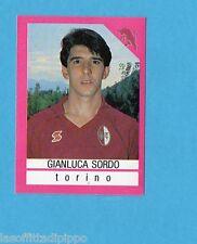 EURO FLASH-I CALCIATORI 1990/91-Figurina n.299- SORDO - TORINO -NEW