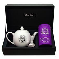 Mariage Freres - DÉGUSTATEUR™ teapot & tea caddy spoon set Marco Polo®