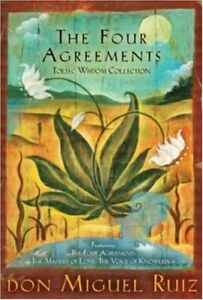 The Four Agreements Toltec Wisdom Collection: 3-... by Don Miguel Ruiz Paperback
