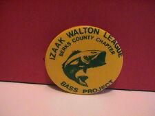 IZAAK WALTON LEAGUE BERKS COUNTY PENNSYLVANIA BASS PROJECT FISH GUN HUNTING PIN