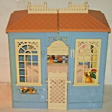 Vintage 1998 Barbie Family Folding House Cottage AJ2
