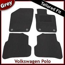 VW Volkswagen Polo Mk5 2009 onwards Fully Tailored Fitted Carpet Car Mats GREY
