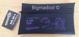 Remarkable recycled Pencil Case I used to be a car tyre Eco Friendly NEW PURPLE