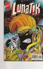 Comic Book - Lunatik. #1 Dec 1995 - First Issue