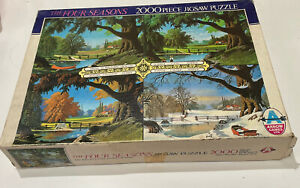 Arrow Games jigsaw Four Seasons Vintage 2000 Piece Boxed