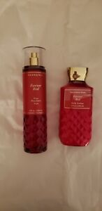 Bath & Body Works Forever Red Fragrance Mist 8 oz and lotion 8 oz new