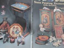 Stain Painting, Etcetera With Acrylics Painting Book-Jo Sonja & David-European S