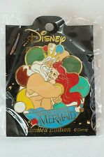 RARE!! Disney JAPAN History Of Art Pin LE The Little Mermaid 1989 Ariel & Triton