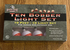 River's Edge Products Fishing Bobber String Lights 10ft Cord 10 Lights Lighting