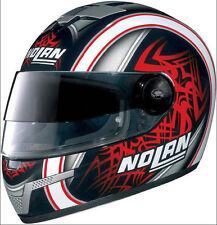 Nolan N-84 Tiger VPS Full Face Helmet Black / Red XS 53-54 cm - Made in Italy