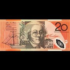 Reserve Bank of Australia 20 dollars 2007 P-59e UNC Polymer