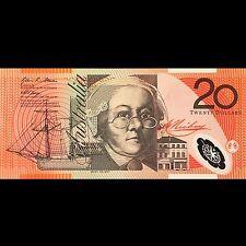 Reserve Bank of Australia 20 dollars 2007 P-59e UNC Polymer