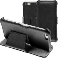 genuine Leather Case for Apple iPhone 6 Plus / 6s Plus Leather-Case black