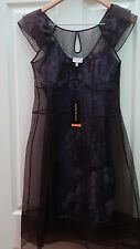 Karen Millen silk organza double dress size UK12 NWT