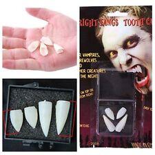 Colmillos de vampiro profesional Halloween set 4 unidades dientes diente dracula
