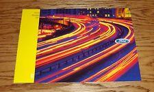 2002 Ford Focus Mustang ZX2 Original Sales Brochure 02