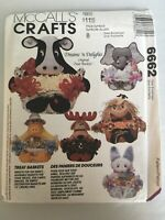 McCall's Crafts Sewing Pattern 6662 Dreams 'n Delights Treat Baskets Halloween