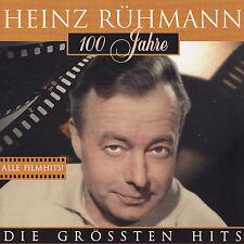HEINZ RÜHMANN - CD - 100 JAHRE - DOE GRÖSSTEN HITS - Alle Filmhits !