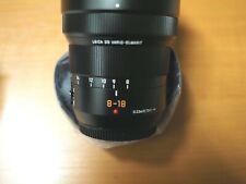NEU LEICA DG Vario-Elmarit 8-18mm 2,8-4,0 ASPH Lumix Objektiv OVP mFT Olympus