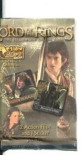 Lord Of The Rings Fellowship Of The Ring Action Flipz Sealed Retail Packet /Pack