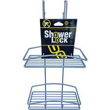 Contenitore Mensola Portasapone per Doccia in Acciaio da Appendere Shower Lock D