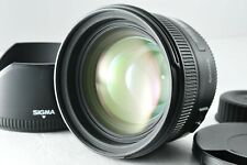 [Mint] Sigma EX 50mm f/1.4 DG HSM Lens for Nikon F by DHL from Japan #1004
