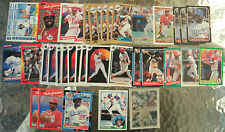 (36) Assorted Pedro Guerrero Trading Cards 1983-92 (19 different cards)