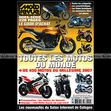 MOTO REVUE HS 610 HORS-SERIE ★ CATALOGUE INTERNATIONAL 2007 ★ GUIDE ACHAT SALON
