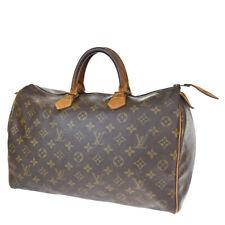 Auth LOUIS VUITTON Speedy 35 Travel Hand Bag Monogram Leather BN M41524 36BS447