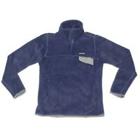 Patagonia Womens Snap-T Fleece Pullover Jacket Blueberry Purple size XS / 776