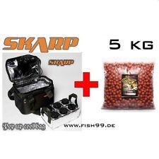5 KG EXTRA CARP Magic Boilies  Monster Crab - Pineapple + SKARP Pop up Cool Bag