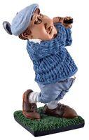 Golfer Golfspieler Rasen grün Golfplatz 15 cm Beruf Funny Figur