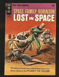 Space Family Robinson Lost In Space # 19 Fine/VF Cond.