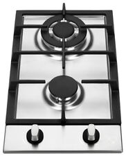 "K&H 2 Burner 12"" NATURAL Gas Stainless Steel Cooktop 2-SSW"